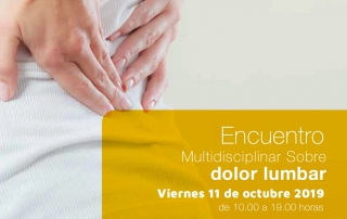 Encuentro Multidisciplinar sobre dolor lumbar